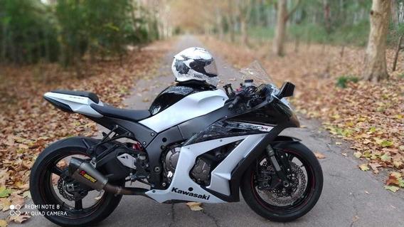 Kawasaki Ninja Zx10r Moto De Pista