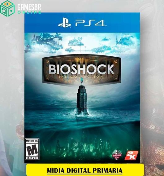 Bioshock Colletion - Ps4 Envio Hoje