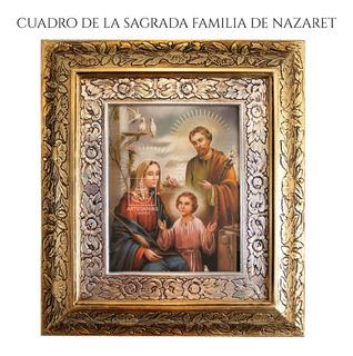 Cuadro Sagrada Familia De Nazaret 45x40 Cm