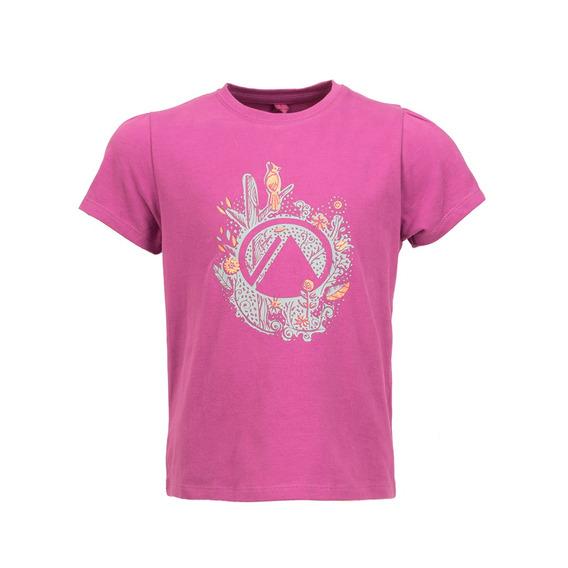 Polera Niña Logo Lippi Uvstop T-shirt Violeta Lippi