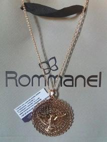 Gargantilha Rommanel+ Pingente Espírito Santo 530146 541526