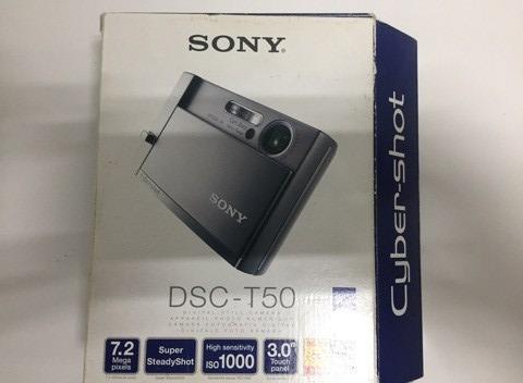 Sony Cybershot T50 - C/ Tela Touch Screen Novíssima