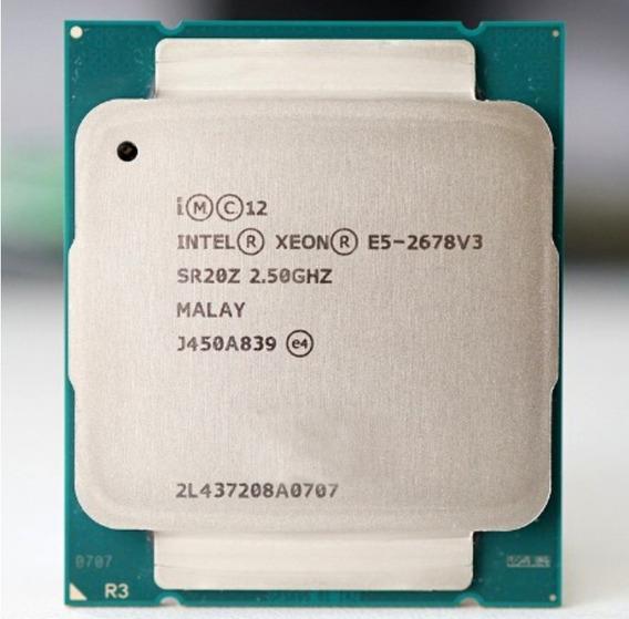 Processador Intel® Xeon® E5-2678 V3 - Preço Unitário