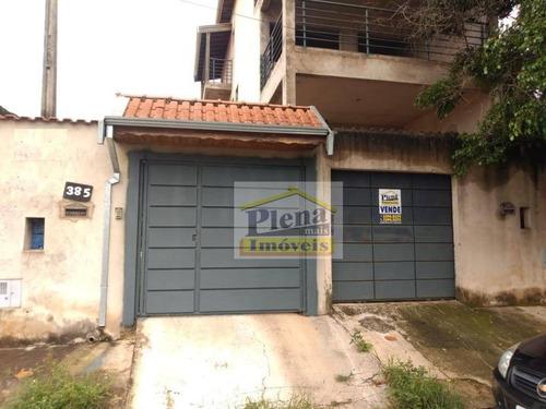 Sobrado Com 4 Dormitórios À Venda, 400 M²  - Jardim São Jorge - Hortolândia/sp - So0895
