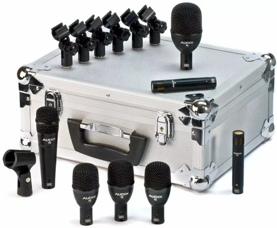 Kit De Microfone Bateria Audix Ep7 Série Fusion