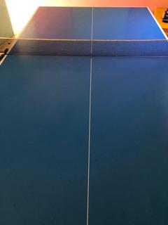 Mesa De Ping Pong Plegable Tamanaco Con Malla Y Raquetas
