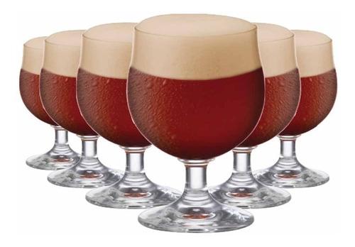 Imagem 1 de 3 de Jogo Taças Ritzenhoff Cristal Cerveja Minibock 230ml 6 Pcs
