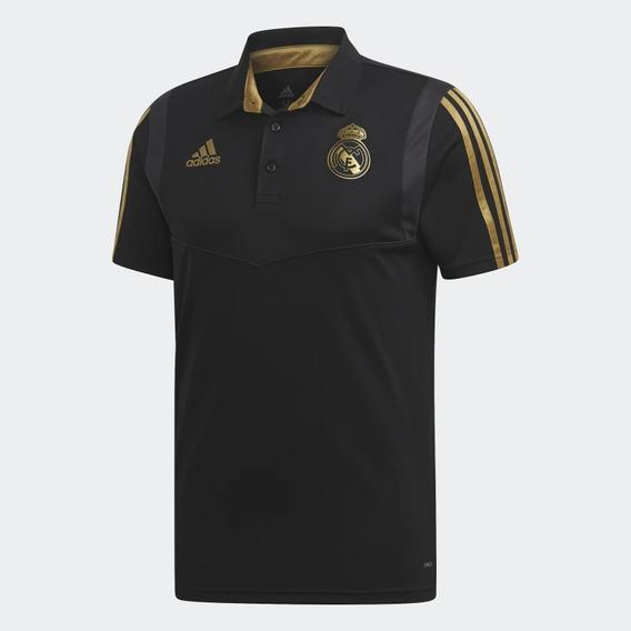 Polera adidas Real Madrid 2019-2020 Modelo Polo