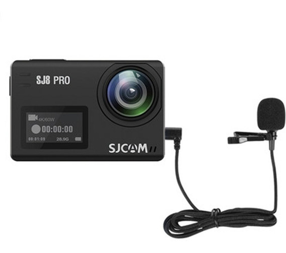 Microfone Externo De Sjcam Sj8 Air Plus Pro Type-c Original