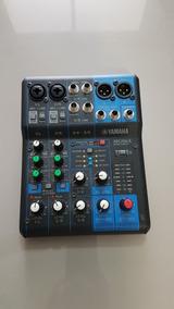 Mesa De Som Yamaha Mg06x  6 Canais  Efeitos  Caixa + Manual