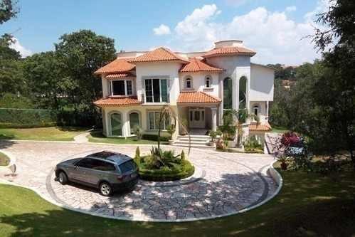 Vv165-3-estilo Y Elegancia, Residencia En Hacienda De Valle Escondido.
