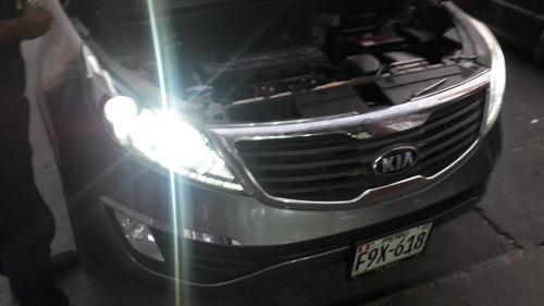 Imagen 1 de 10 de Luces Hid Xenon O Led Kia Cerato O Lupa  Envios Peru