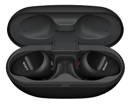 Imagem 1 de 6 de Fone de ouvido in-ear sem fio Sony WF-SP800N preto