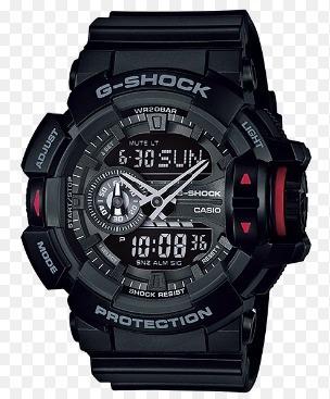 Relogio Casio G-shock Ga-400-1b Ga400