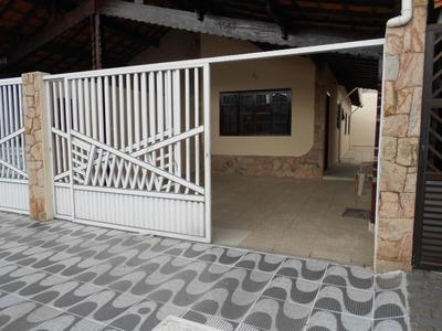 Casa Em Vila Mirim, Praia Grande/sp De 110m² 2 Quartos À Venda Por R$ 250.000,00 - Ca198178