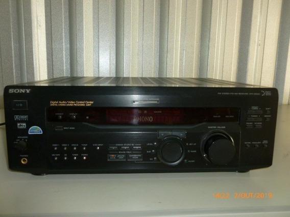 Receiver A/v Sony Mod. Str-de845 100w 5.1 Usado