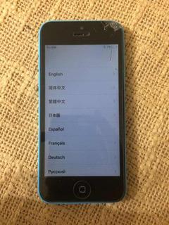 iPhone 5c Libre Pantalla Dañada