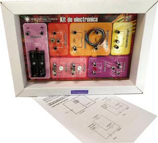Tablero C Componentes Electronicos Para Crear Circuitos Cpt