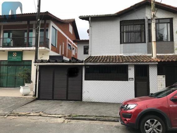 Casa A Venda No Bairro Vila Santa Rosa Em Guarujá - Sp. - 721-1