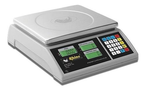 Báscula Digital Contadora Rhino 30kg/1g Baco-30 Comprosi