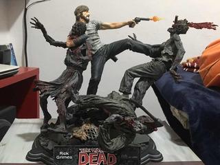 Rick Grimes Statua De Resina The Walking Dead Comic Figura