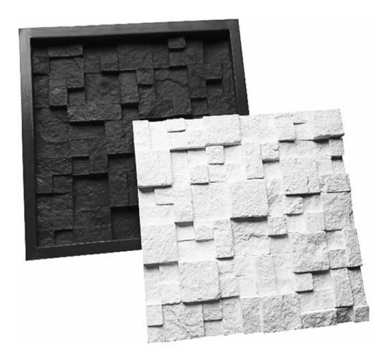 Moldes P Gesso Placas 3d Abs Mosaico São Tome