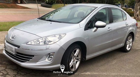 Peugeot 408 Sedan Griffe 1.6 Turbo Aut. 2013 Prata