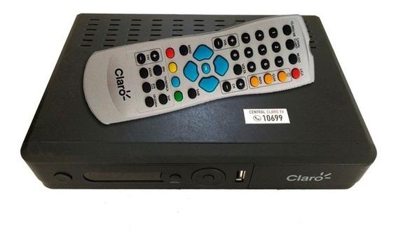 Receptor Claro Tv Com Recarga Infinita Canais Livres 20%off