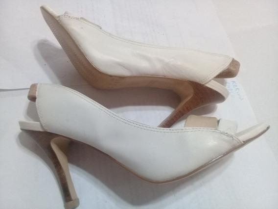 Zapatos Via Uno Nº35.cuero Vacuno. Nuevos. Ver Descripcon