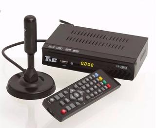 Combo Conversor Digital Tv + Antena Digital + Hdmi + Tube