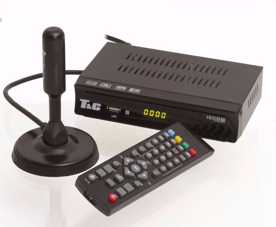 Kit Conversor Digital Tv Usb + Antena Tomate Hd Uhf Full Hd