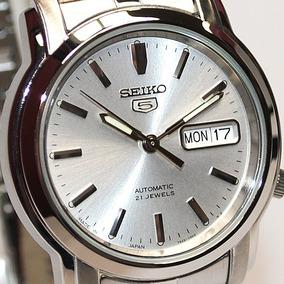 Relógio Seiko 5 Automático 21 Jóias Snkk65j1 Made In Japan