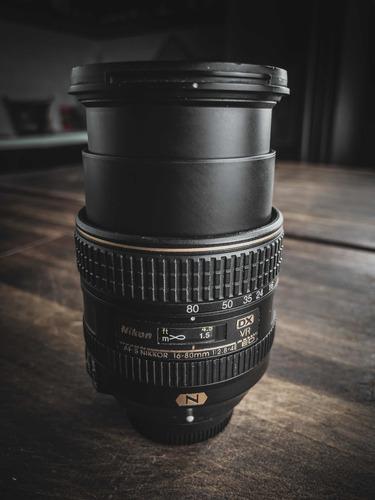 Lente Af-s Dx Nikkor 16-80mm F/2.8-4e Ed Vr