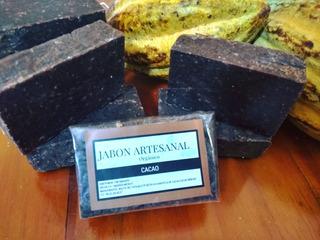 Jabones Artesanales 100% Orgánicos Cacao,coco,avenamiel,cafe