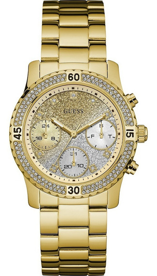 Relógio Guess Feminino Confetti Gold W0774l5