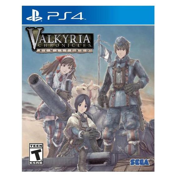 Valkyria Chronicles - Ps4 - Mídia Física - Novo