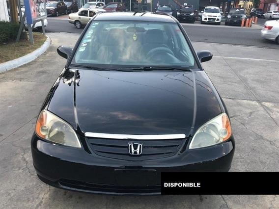 Honda Civic Lx 02 Negro