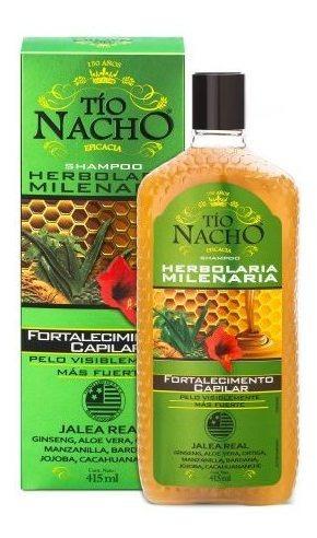 Imagen 1 de 3 de Shampoo Tio Nacho Anti Caida 415 Ml