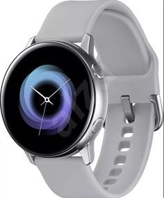 Galaxy Watch Active Prata Samsung (2019) Novo Lacrado