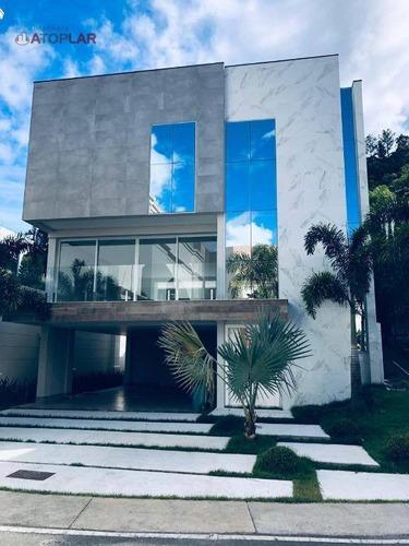 Casa À Venda, 440 M² Por R$ 7.300.000,00 - Praia Brava - Itajaí/sc - Ca0040