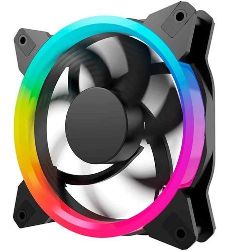 Kit 3+1 Ventiladores Ocelot/gamer/120mm/rgb/con Control