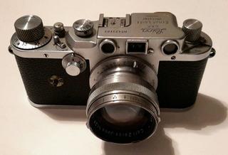 Camara Leica Con Lente Carl Zeiss Jena