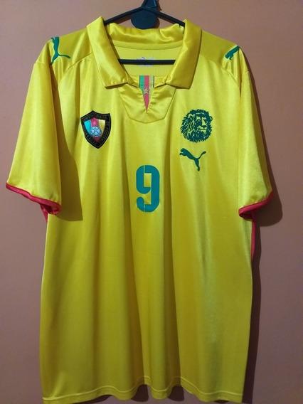 Camiseta De Camerún 2008/2009 #9 Etoo