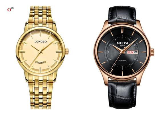 Relógio Kit Casal Promoção Oferta Especial