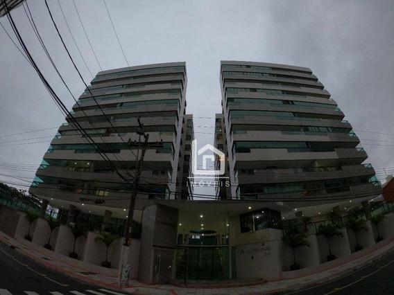 Apartamento Com 4 Dormitórios À Venda, 190 M² Por R$ 900.000 - Itapuã - Vila Velha/es - Ap0172