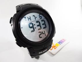 Relógio Original Skmei Esportivo Digital Preto Prova D