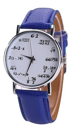 Relógio Equações Matemática Engenharia Várias Cores