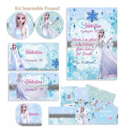 Kit Imprimible Frozen2