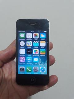 Celular 16gb iPhone 4 Modelo A1332 Bom Estado Envio T.brasil