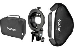 Softbox Godox 60x60 Para Flash Speedlight Com Bolsa Nylon